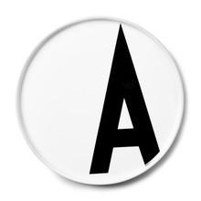 Design Letters - Design Letters - Assiette en porcelaine A-M