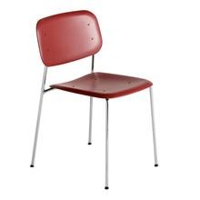 HAY - Soft Edge P10 Stuhl Gestell Stahl verchromt
