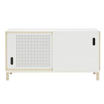 Normann Copenhagen - Kabino Sideboard - esche/weiß/114x61x42cm