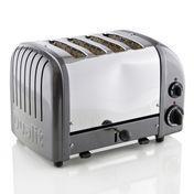 Dualit - Combi Toaster 2+2 - metallic charcoal/polished