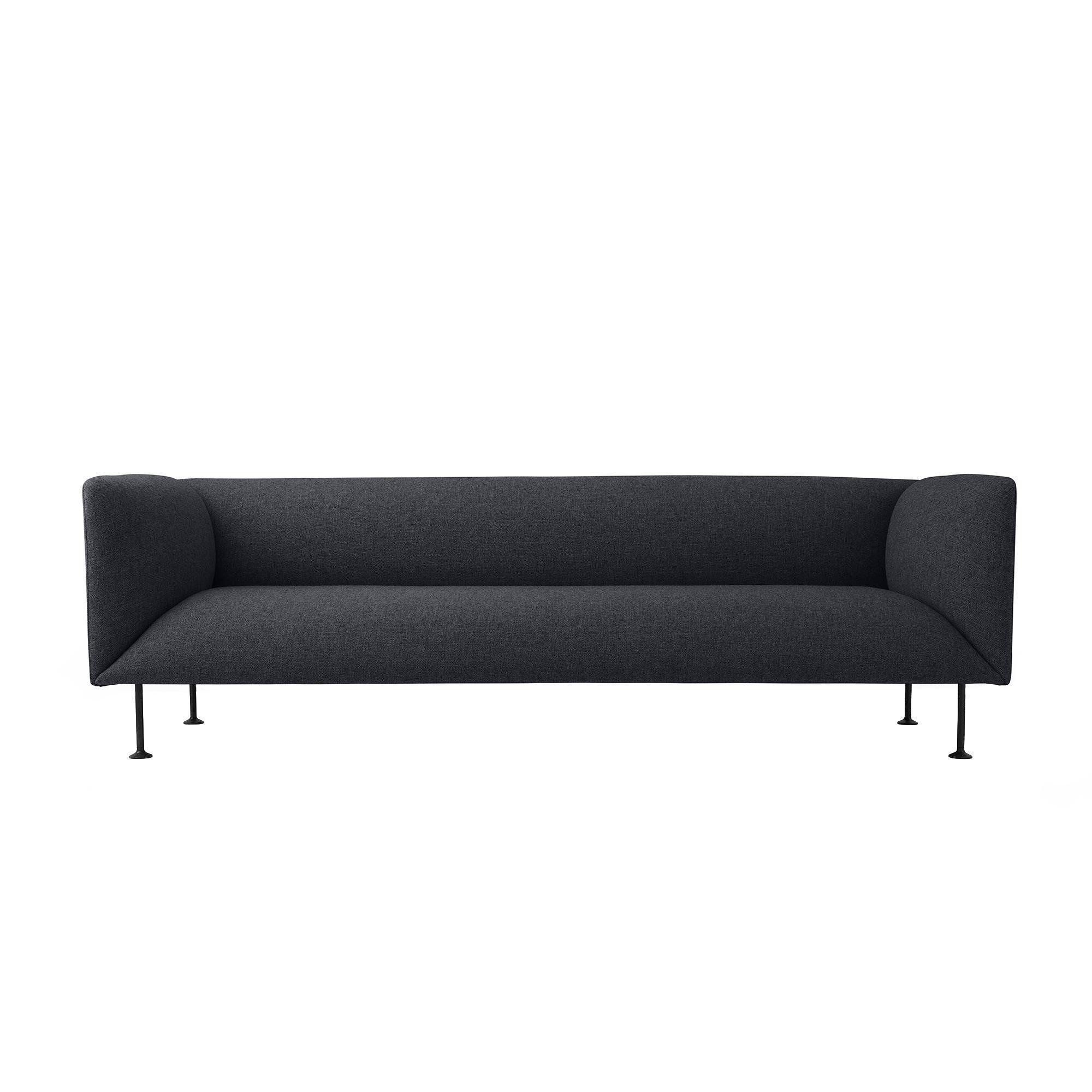 Gentil Menu   Godot Sofa 3 Seater   Dark Grey ...