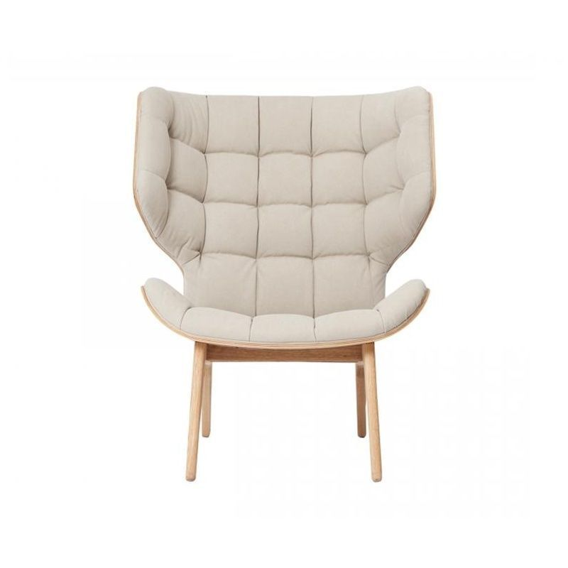 mammoth fluffy lounge chair | norr 11 | ambientedirect