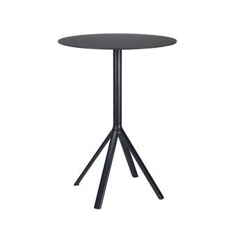 la palma - Fork P121 Bistrotisch H: 110cm  - schwarz/Laminat / Fenix/H 110cm/ Ø 60cm