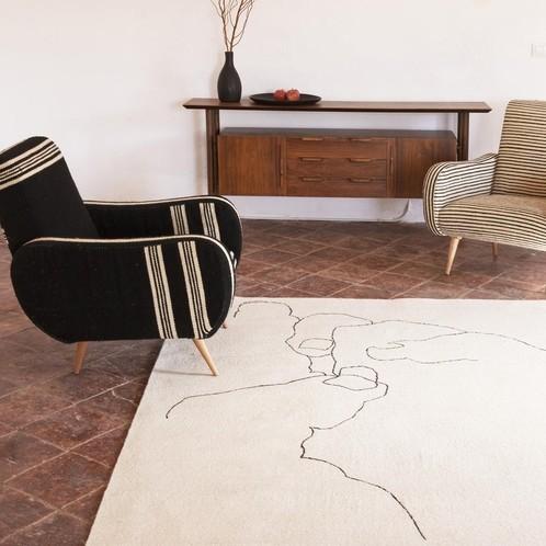 Nanimarquina - Chillida Design Kunst-Teppich