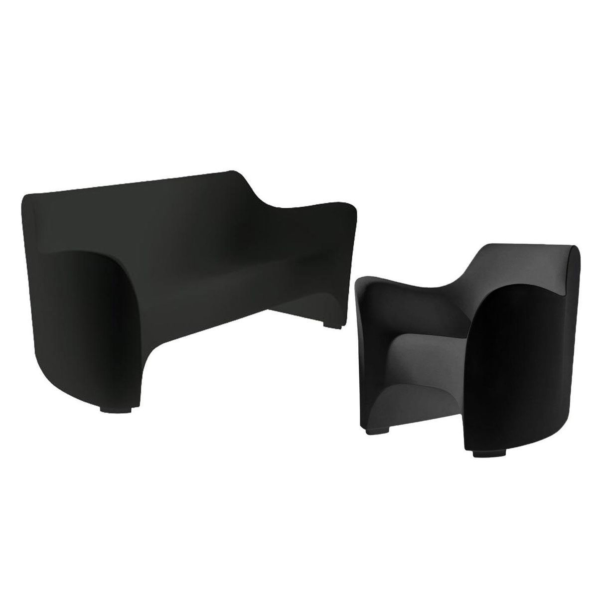 set promo tokyo pop canap et fauteuil driade. Black Bedroom Furniture Sets. Home Design Ideas