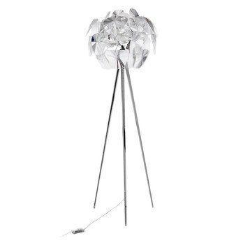 Luceplan - Hope Stehleuchte - transparent/Gestell edelstahl/Ø 72cm/H 200cm