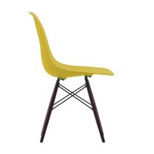 Vitra - Vitra Eames Plastic Side Chair DSW Ahorn dunkel
