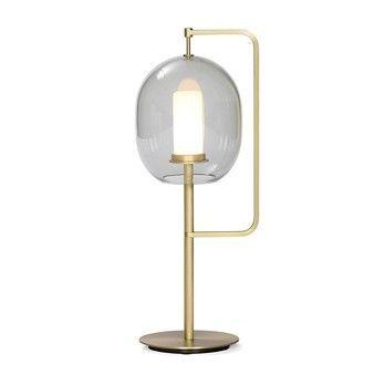 - Lantern Light LED Tischleuchte - messing/dimmbar