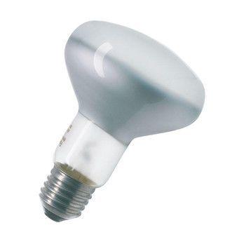 QualityLight - AGL E27 Globe R80 25W - matt/Glas/Energieeffizienzklasse f/Gewichteter Energieverbrauch 25 kW/1000 h