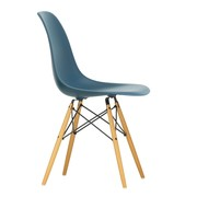 Vitra - Eames Plastic Side Chair DSW Golden Maple Base