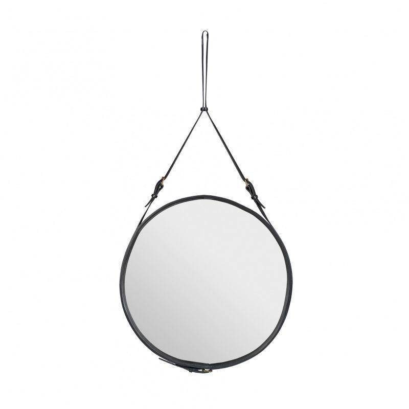 Adnet wall mirror gubi - Miroir rond en bois ...