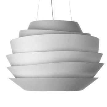 Foscarini - Le Soleil Pendelleuchte - weiß/H 43cm/Ø 62cm