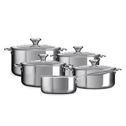 Le Creuset - 3-ply Plus Set Of 5 Pots