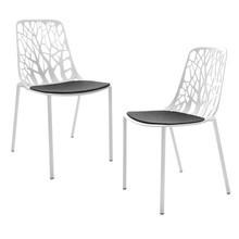 Fast - Forest - 2 chaises de jardin coussins incl.