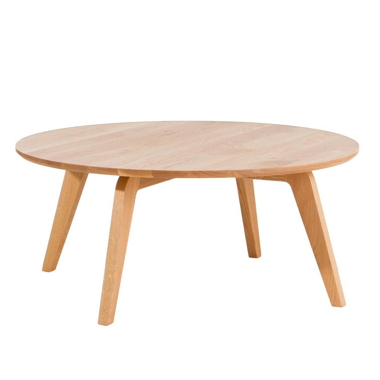 Jan Kurtz Dweller Solid Wood Side Table ø90cm Ambientedirect