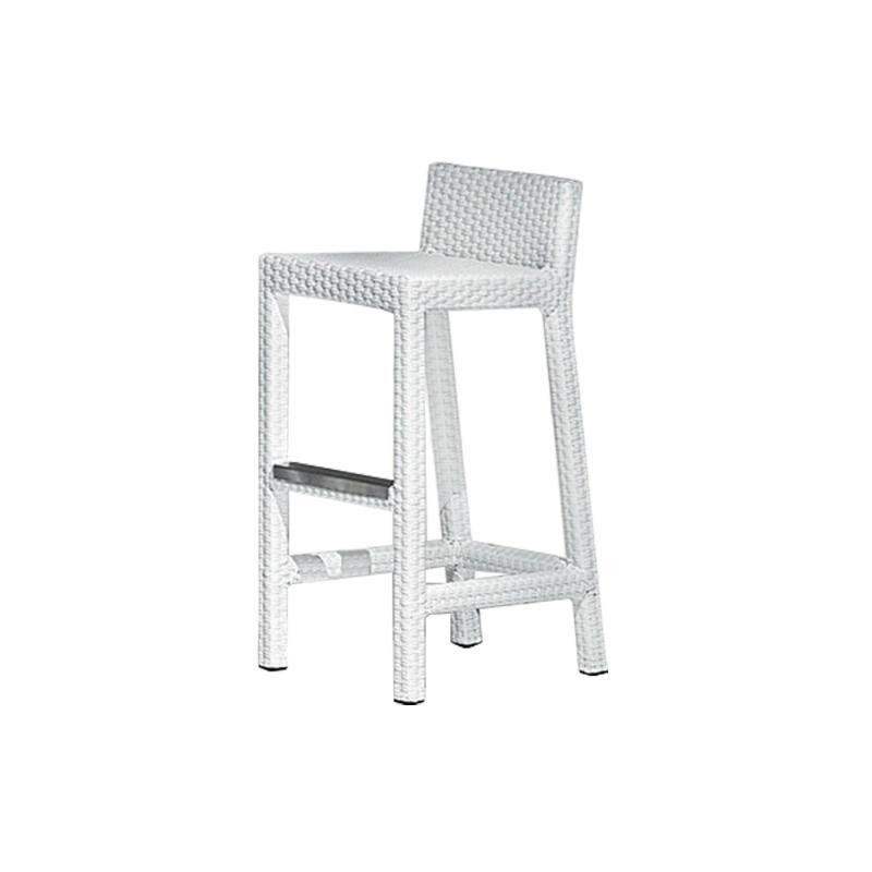 gervasoni inout 228 poly rattan bar stool frame