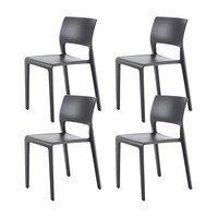 Arper - Juno 3600 Set Of 4 Chairs
