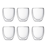Bodum - Pavina Glass Set of 6