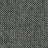 la palma - Mak Barhocker 55-80 - Stoff schwarz/weiß Hallingdal/Gestell schwarz lackiert