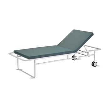Skagerak - Fuori Sonnenliege - olivgrün/Stoff Barriere® Panama/Gestell aluminium/LxBxH 200x73x40cm