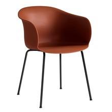 &tradition - Chaise avec accoudoirs Elefy JH28 structure noir