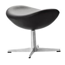 Fritz Hansen - Fritz Hansen Egg Chair/ Das Ei Fußhocker Leder