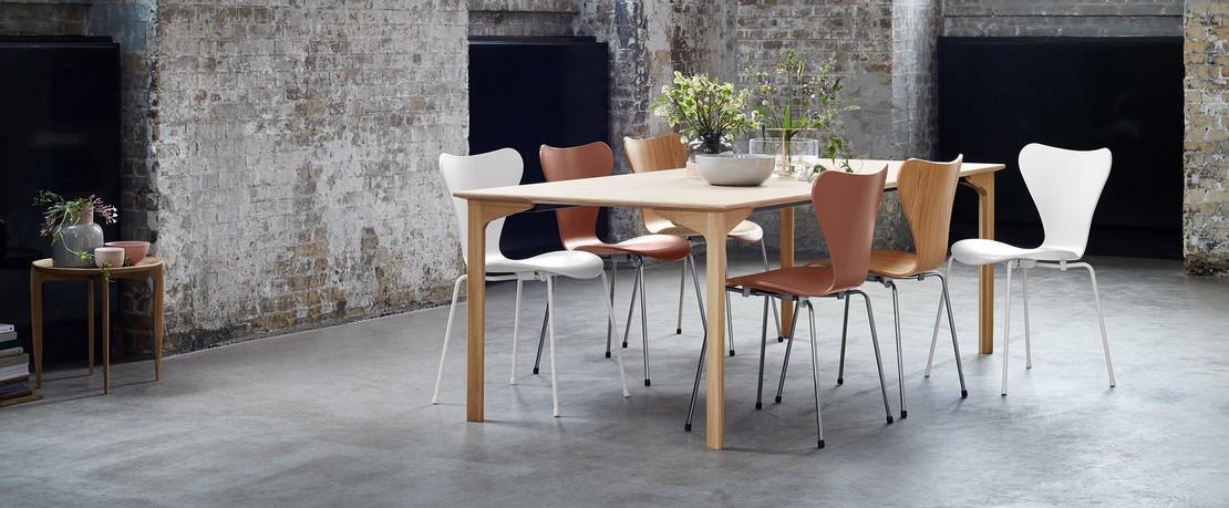 FritzHansen Serie7 Designklassiker Übersichtsseite Presenter