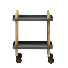 Normann Copenhagen - Block - Table d'appoint/desserte mobile