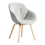 HAY - Chaise avec accoudoirs About a Chair 123 Soft Duo