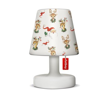 Fatboy - X-Mas Edition Edison the Petit Leuchte - deer santa/H:25cm x Ø16cm/Cappie geschenkt