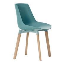 MDF Italia - Flow Cross Chair Oak Base