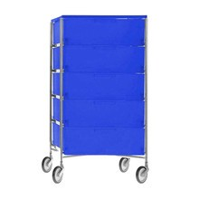 Kartell - Mobil 5 Container with wheels