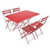 Fermob: Hersteller - Fermob - Bistro Garten-Set 4 Stühle