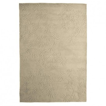 Nanimarquina - Asia 1 Teppich - beige/Neuseeland-Wolle/200x300cm