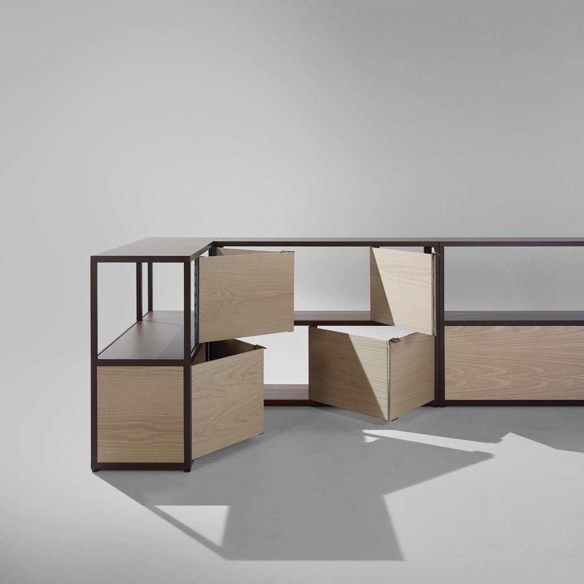 HAY - New Order Shelf With Door 100x79.5cm & New Order Shelf With Door 100x79.5cm   HAY   AmbienteDirect.com pezcame.com