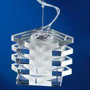 deMajo - Otto x Otto S1 Suspension Lamp - transparent/glass