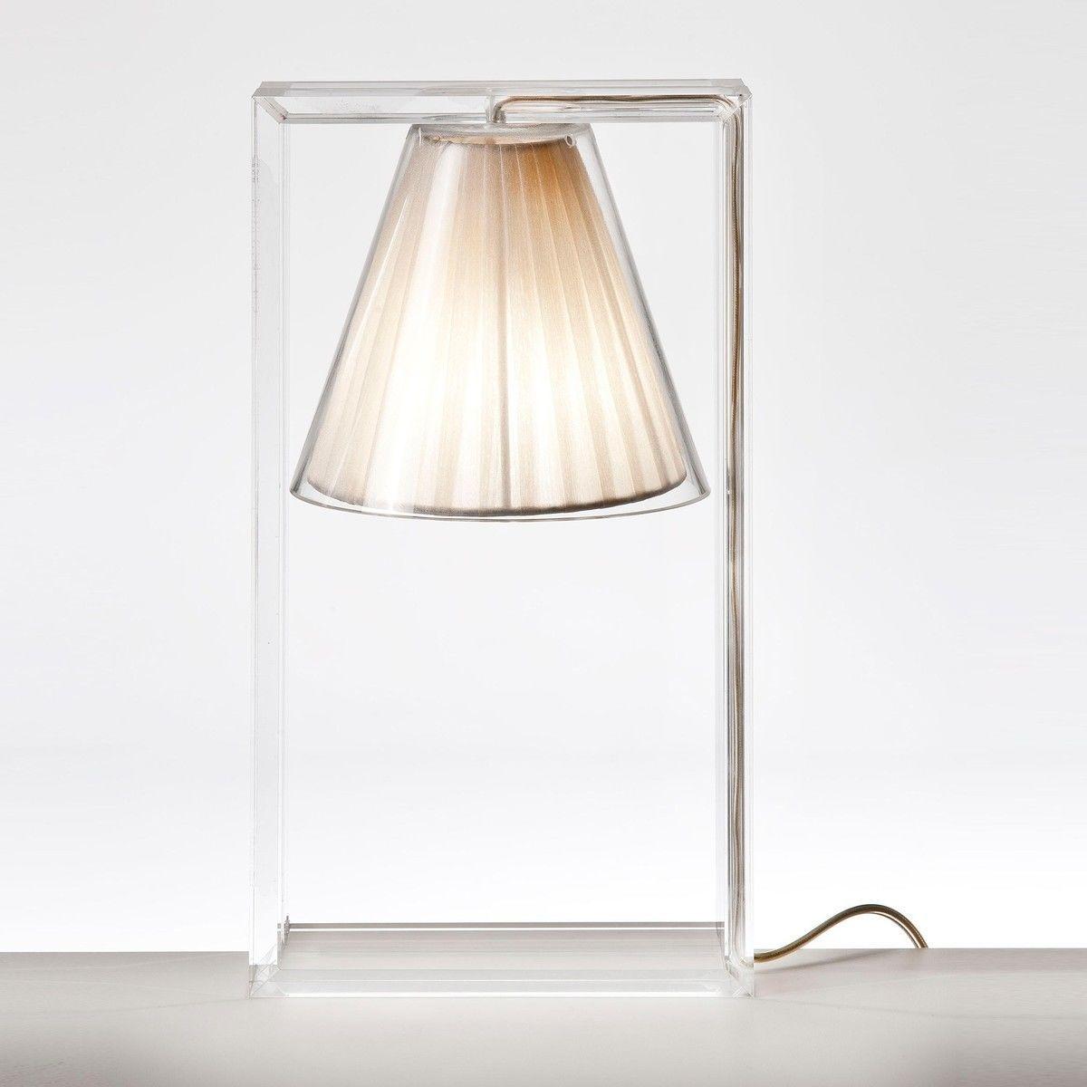 Light air lampe de table abat jour tissu kartell - Des abat jour ...