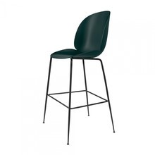 Gubi - Beetle Bar Chair Barhocker Schwarz 118cm