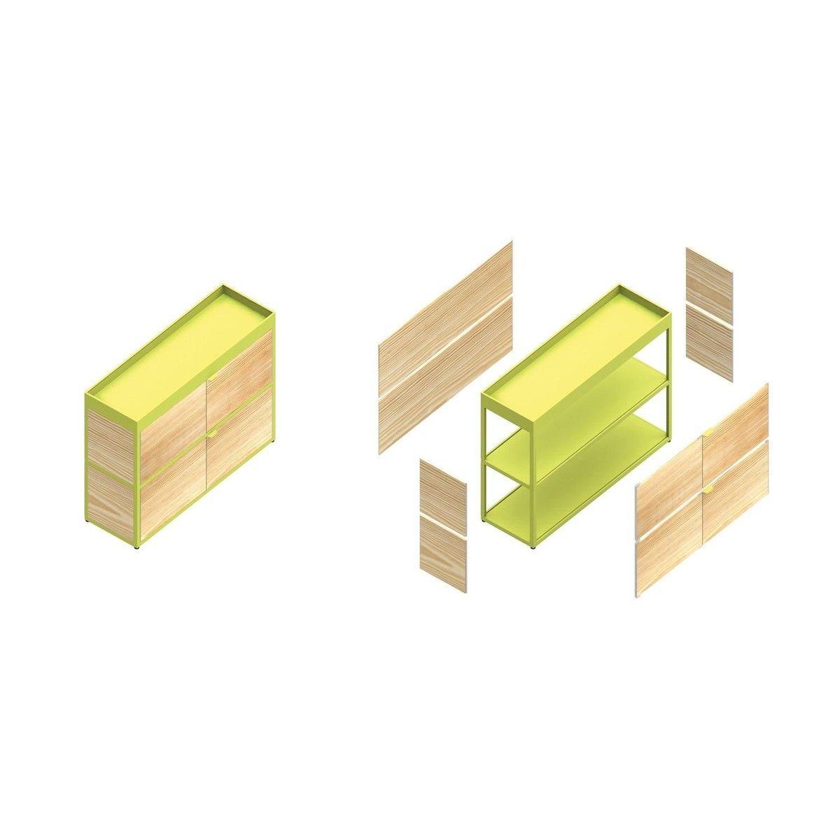 new order etag re avec porte hay. Black Bedroom Furniture Sets. Home Design Ideas
