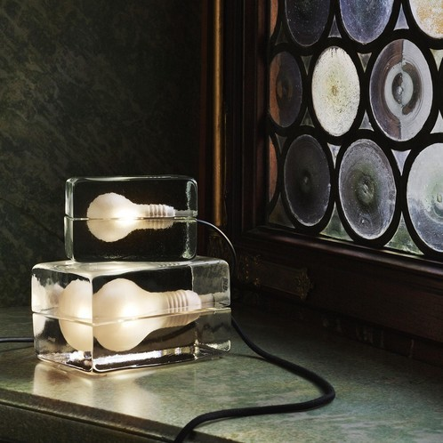 DesignHouseStockholm - Mini Block Lamp Tischleuchte