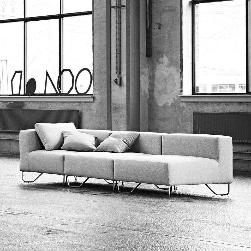 lotus sofa corner elements softline. Black Bedroom Furniture Sets. Home Design Ideas