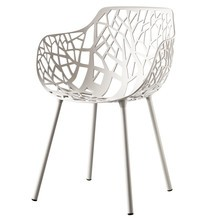 Fast - Chaise avec accoudoirs Forest