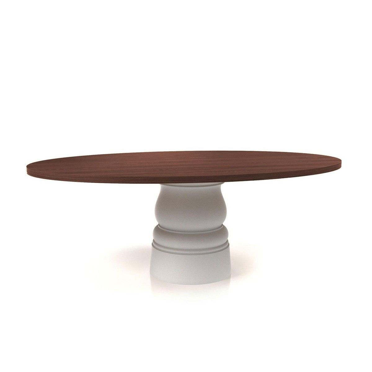 Moooi container wood table 120cm moooi - Table 120 cm ...