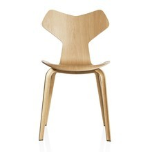 Fritz Hansen - Fritz Hansen Grand Prix Chair 46,5cm With Wood Frame