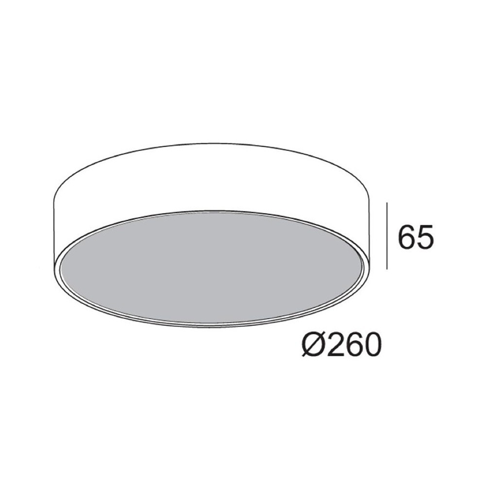 Deltalight Supernova Xs 260 Led Ceiling Lamp Ambientedirect