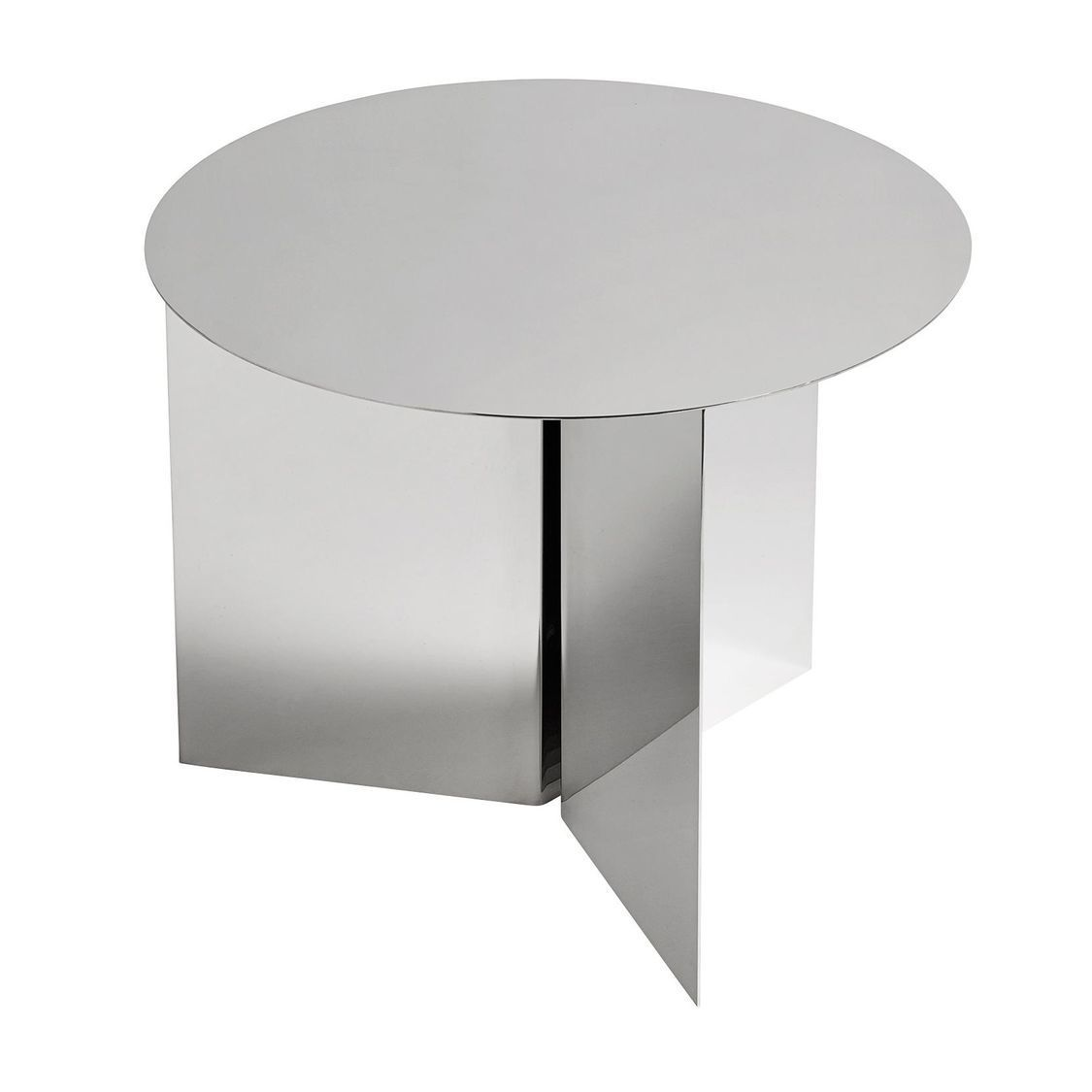 Slit table round table d 39 appoint hay - Table d appoint miroir ...