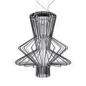 Foscarini - Allegro Ritmico LED Pendelleuchte - schwarz/Metall/3000K