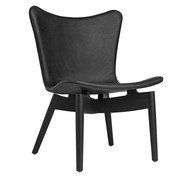 Mater - Shell Lounge Chair Black Oak