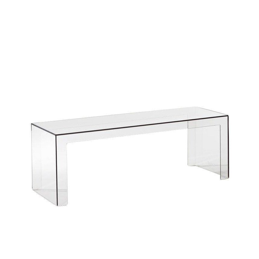 Kartell Invisible Side Table AmbienteDirect - Kartell invisible coffee table