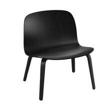 Muuto - Visu Lounge Chair mit Holzgestell